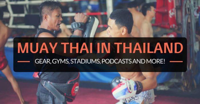 muay thai in thailand