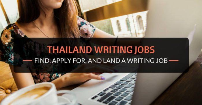 thailand writing jobs