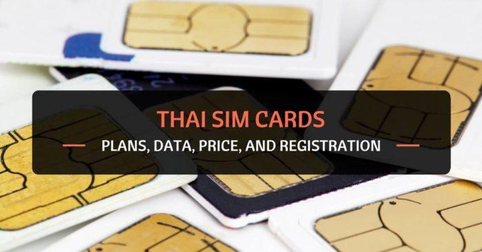 Thai SIM cards