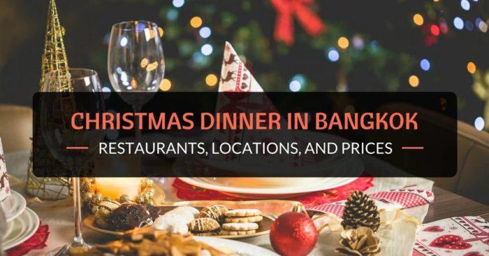 christmas dinner in bangkok