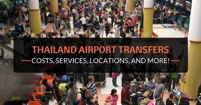 thailand airport transfers