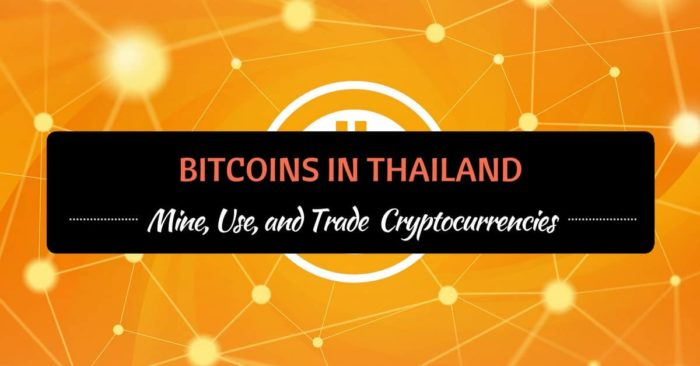 bitcoins in thailand mine use and trade cryptocurrencies