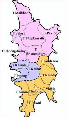 districts of phuket