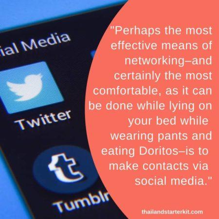 social media thailand