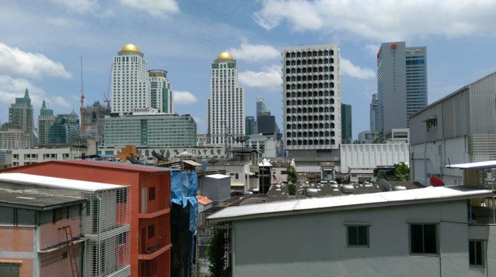office buildings inside bangkok