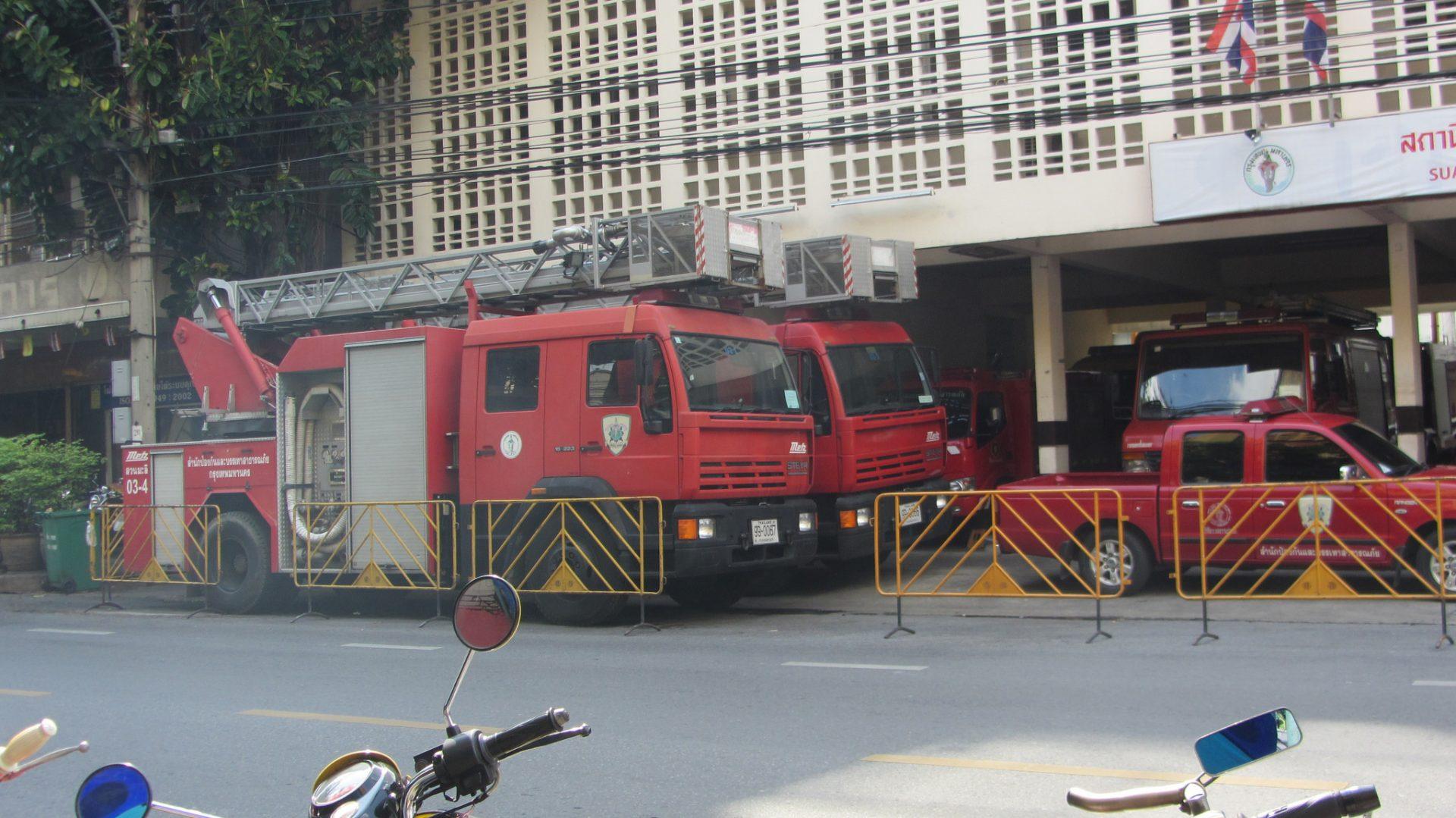 bangkok fire truck
