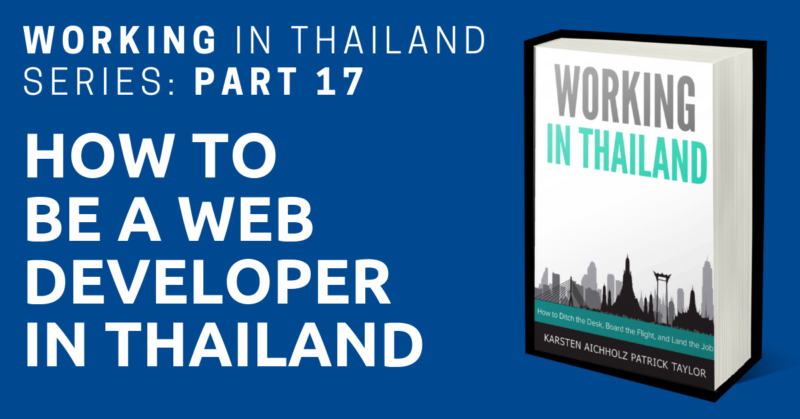 working in thailand web developer