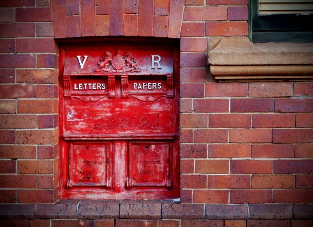 A Australian Post box.