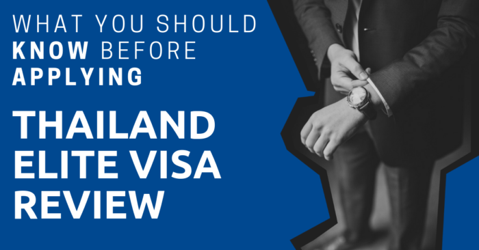 Thailand Elite Visa Review What You Should Know Before Applying