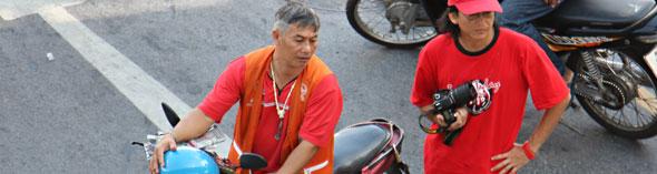 Red Shirt Photographer