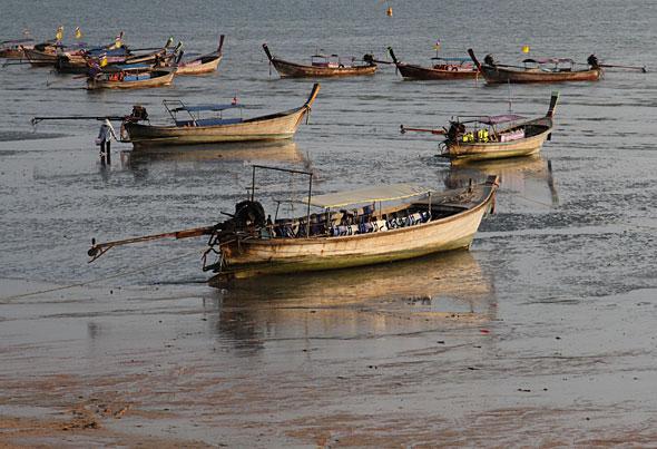 Ao Nang Long-boats