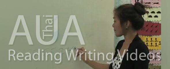 AUA Thai: FREE Reading and Writing Videos