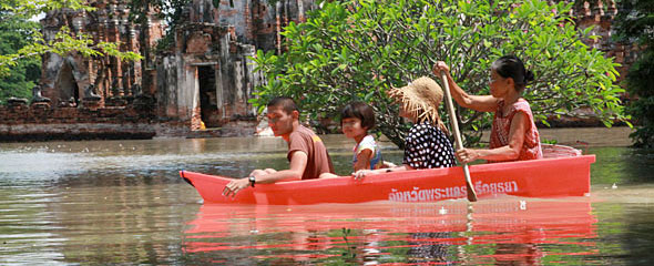 Ayutthaya Underwater: Bangkok Now Bracing for Floods