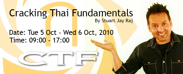 Stu Jay Raj and Cracking Thai Fundamentals