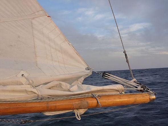 Daniel is Sailing