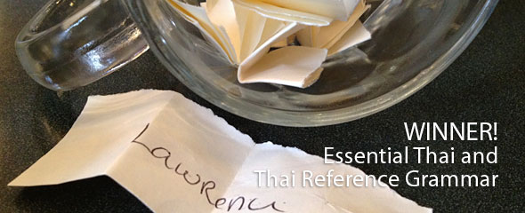 WINNER: James Higbies' Essential Thai and Thai Reference Grammar