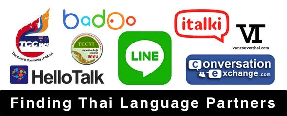 Finding Thai Language Partners