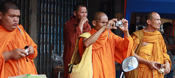 Ghost Festival: Monks