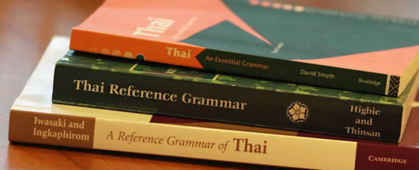A Guide to Thai Grammar Books