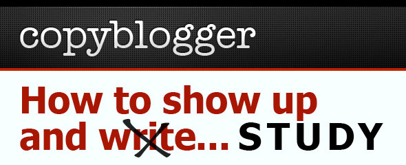 Copyblogger: How to Show Up and Study Thai
