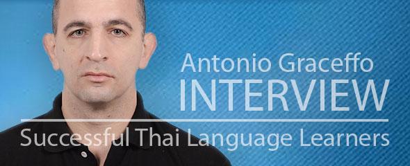 Successful Thai Language Learner: Antonio Graceffo