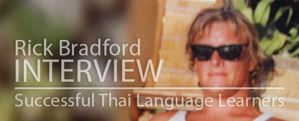 Successful Thai Language Learner: Rick Bradford