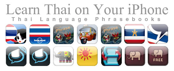 iPhone Thai Language Apps
