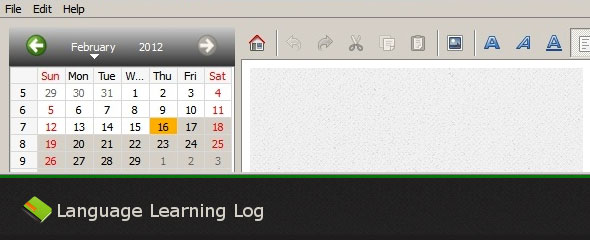 Review: Language Learning Log