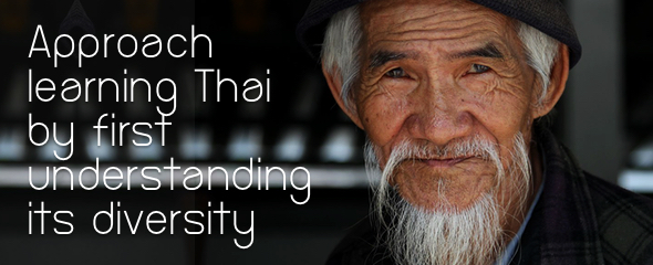 Approach Learning Thai by Understanding its Diversity