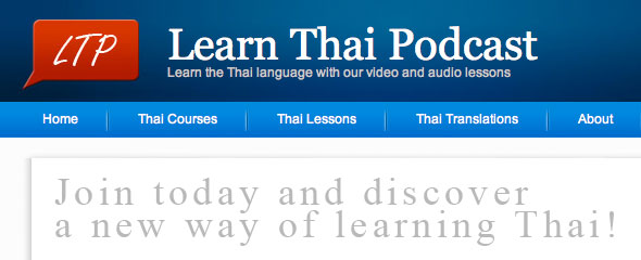 Overview of Learn Thai Podcast