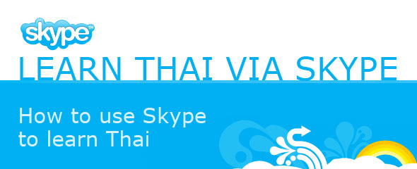 How to Learn Thai via Skype