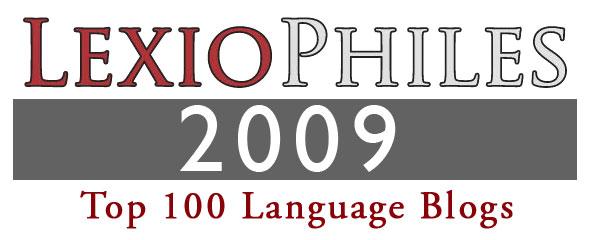 Top 100 Language Blogs 2009