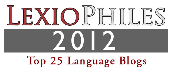 Top 25 Language Learning Blogs 2012