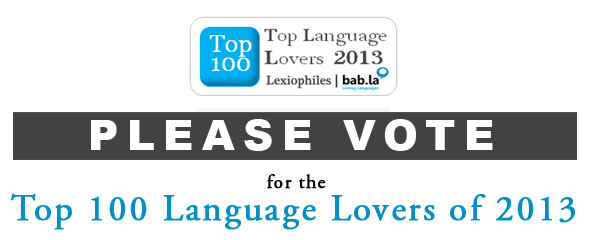 Top 100 Language Lovers of 2013