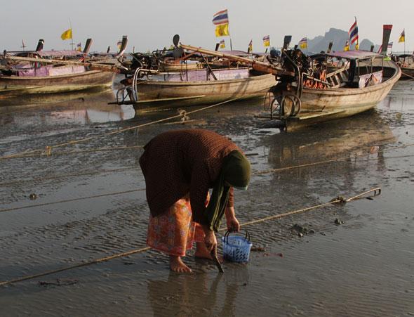 Ao Nang's Longtail Boats