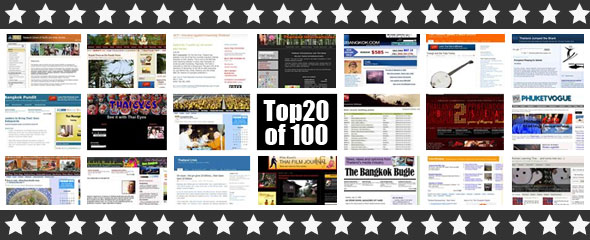 Top 100 Thailand blogs