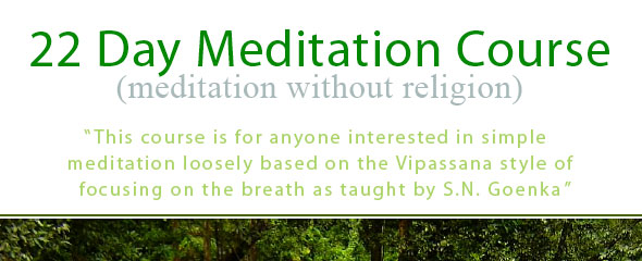22 Day Meditation Course
