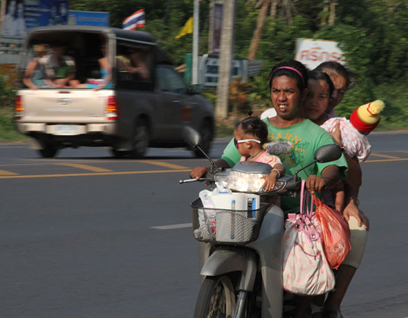 Motorcycle Safety Campaign in Thailand