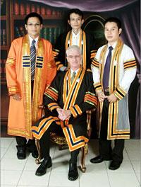 Pra Peter's graduation photo