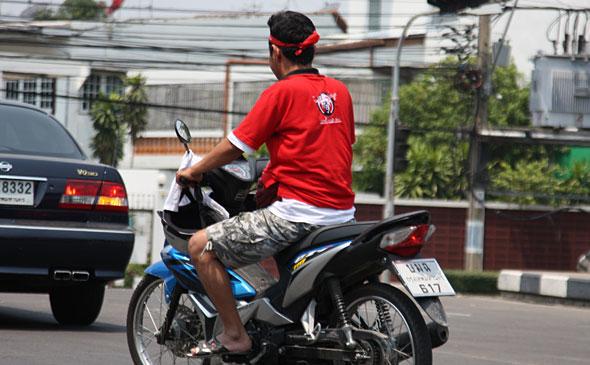 Red Shirt Motorcy