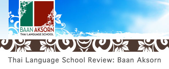 Thai Language School Review: Baan Aksorn