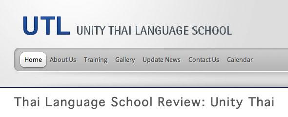Thai Language School Review: UTL Unity Thai Language School