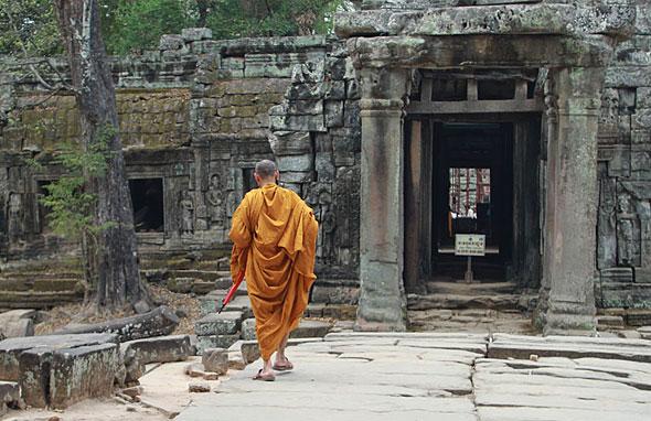 Siem Reap: Monk