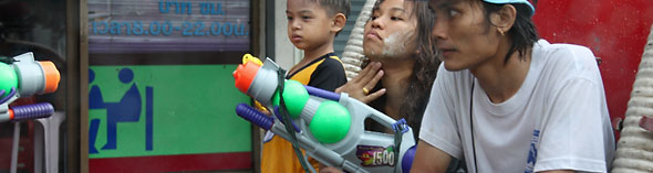 Songkran guns