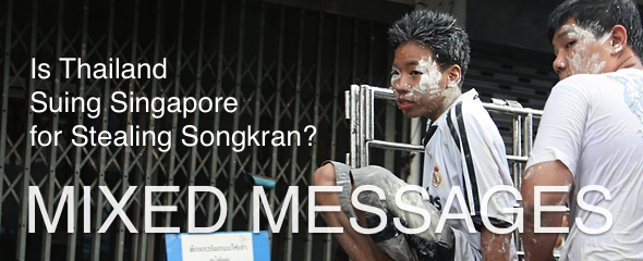 Thailand Threatens to Sue Singapore for Stealing Songkran