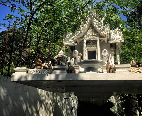 Cat's Spirit House