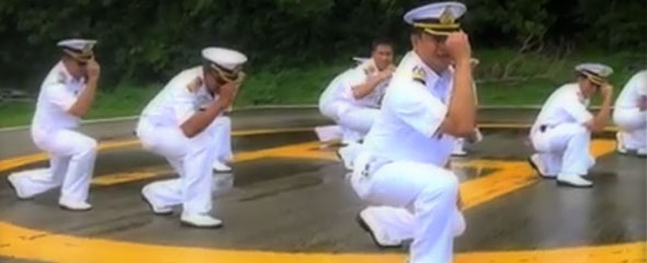 Thai Navy Gangnam Style: Youtube Sensations