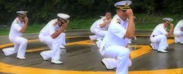 Thai Navy Gangnam Style: Youtube Sensations