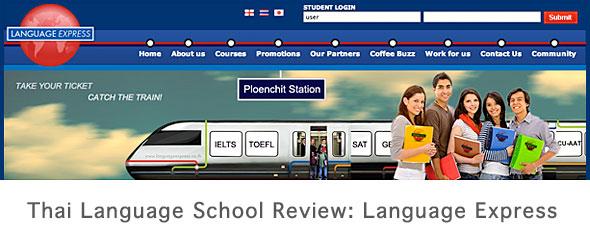 Thai Language School Review: Language Express