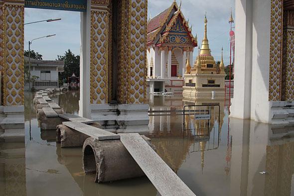 Thailand under water